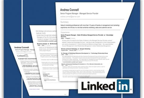 print resume from linkedin 10 ways to turn your linkedin profile into a finding machine mihaylo college of business