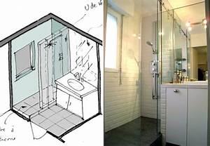 Merveilleux deco petite salle de bain avec baignoire 1 for Salle de bain design avec image encadree décoration