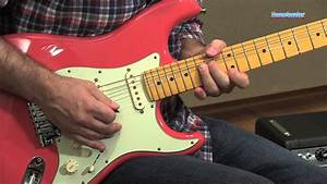 Fender American Deluxe Strat V Neck Guitar Demo