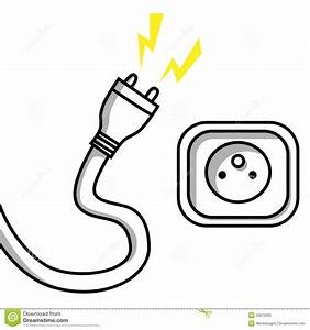 plug and socket stock vector illustration of industrial With wiring a plug up