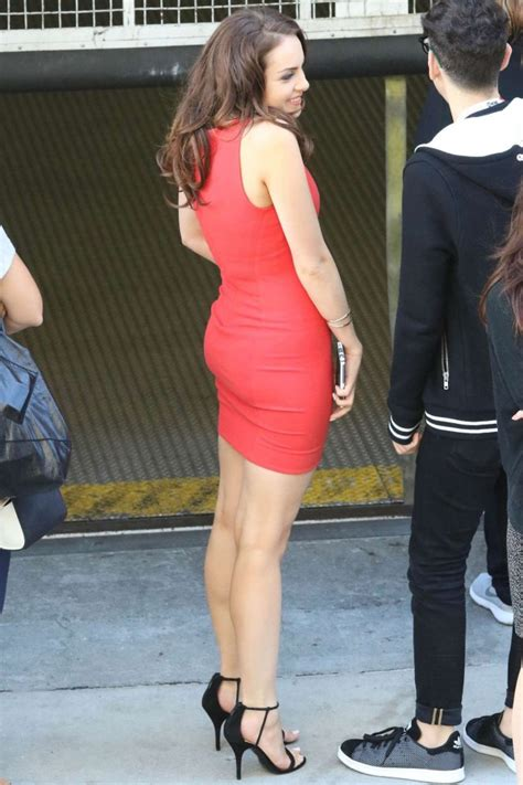 elizabeth gillies  tight red dress  gotceleb