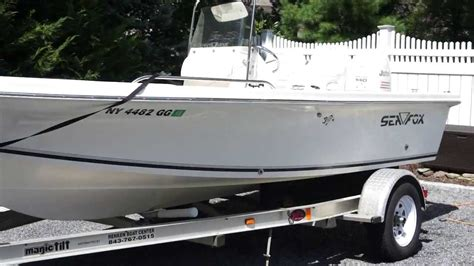 Center Console Boats For Sale With No Motor by 2004 Seafox 185 Bf Center Console Fishing Boat For Sale