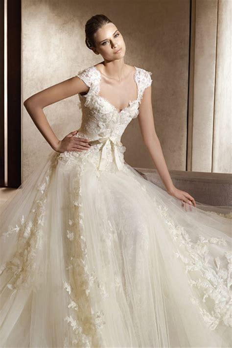 Vintage Wedding Dresses Dressed Up Girl