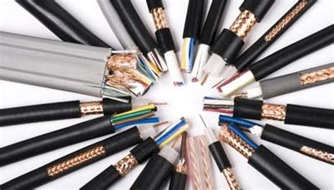 Types Electrical Cable Sciencing