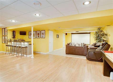 Yellow Basement   10 Basement Paint Colors   Bob Vila
