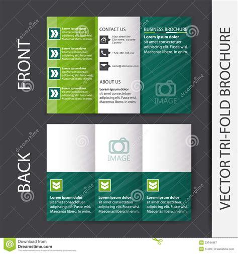 free tri fold brochure design business tri fold brochure design stock vector illustration of publishing media 53744967