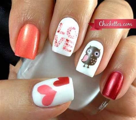 valentines nail designs s day nail ideas