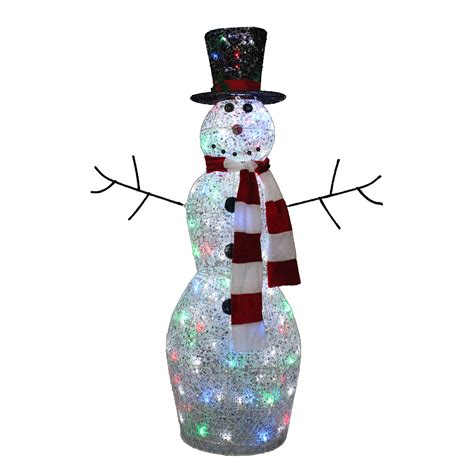 trimming traditions  twinkling snowman   led