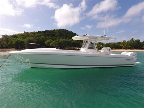 Intrepid Cabin Boats 2016 used intrepid 327i cuddy cabin boat for sale