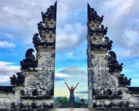 Bali Tourist Attractions Fee 2017