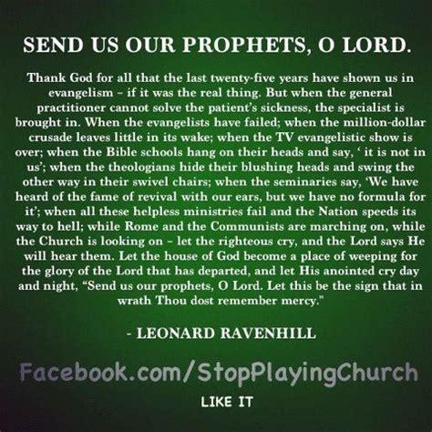 Leonard Ravenhill Quotes On Leonard Ravenhill Quote Were You