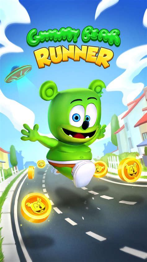 gummy bear running runner endless games fast using app apk apkpure