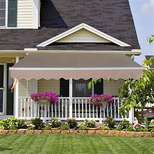 Buy Green 13 U0026quot X8 U0026quot  Manual Awning Canopy Patio Deck