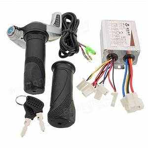 24v 500w Motorcycle Brush Speed Controller  U0026 Scooter