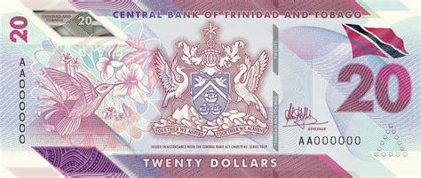 trinidad  tobago  polymer note family   unveiled   banknotenews