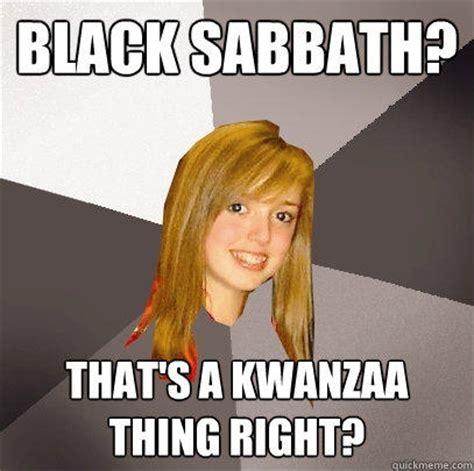 black sabbath   kwanzaa   quickmeme