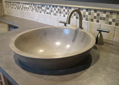 how to make a cement sink how to make a concrete countertop concreteideas
