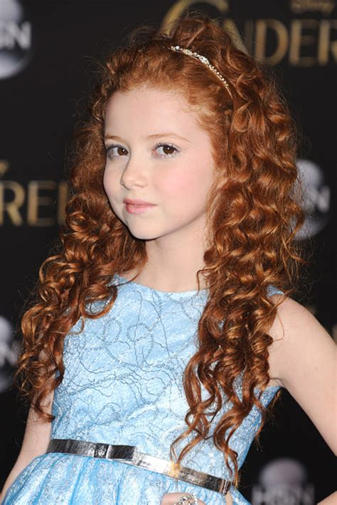 francesca capaldi curly ginger barrel curls headband hairstyle steal  style