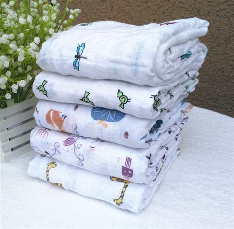 swaddle designs blanket infant muslin cotton soft newborn baby bath towel summer