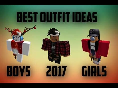 roblox  outfit ideas  boys  girls
