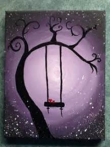 Hi friends.welcome again to a coffee painting tutorial. Easy acrylic painting - whimsical tree with a swing.   Stuff to Try in 2019   Pinterest   Arte ...