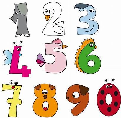 Numbers Number Pre Clipart Preschool Kindergarten Illustration