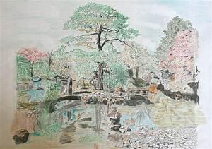 Jardin Dessin Couleur : galerie de dessins croquis peintures aquarelles ~ Melissatoandfro.com Idées de Décoration