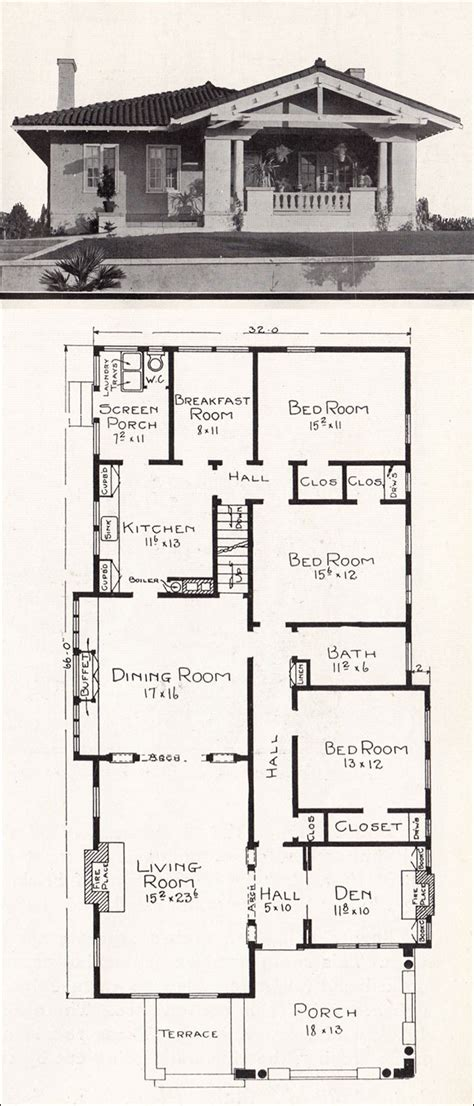 small room mediterranean house plans courtyard spanish style tiny homes home ranch bungalow