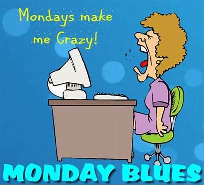 Crazy Mondays Monday Blues Greetings Cards Greeting