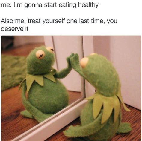 Eating Healthy Meme - 56 best sad kermit images on pinterest frogs kermit the frog and dankest memes