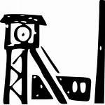 Mine Clipart Map Clip Coalmine Symbols Coal