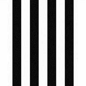 Photo Collection Black And Whit Striped Wallpaper