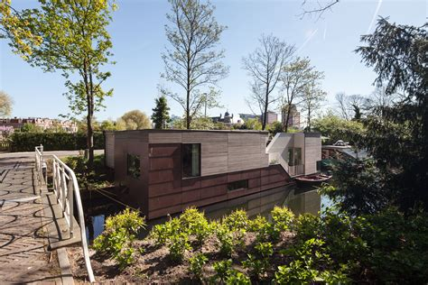 Woonboot Te Koop Kanaalweg Utrecht by Droomboot Utrecht Bytr Architectuur Nl