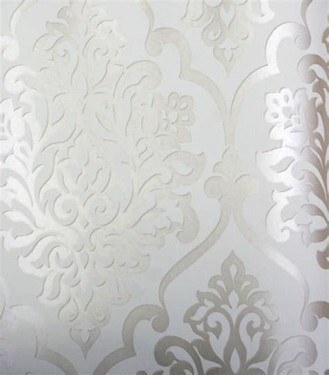 gold  silver damask wallpaper gallery