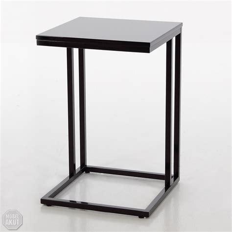 beistelltisch hochglanz schwarz beistelltisch quot quot tisch ecktisch couchtisch schwarz hochglanz metall schwarz ebay
