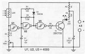 Fake Led Alarm Simulator Circuit