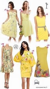 Robe Tendance Ete 2017 : robe jaune la la land la tendance du printemps 2017 ~ Melissatoandfro.com Idées de Décoration