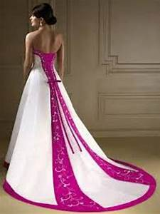 wedding dresses with purple accents dresses trend With wedding dress with purple accents