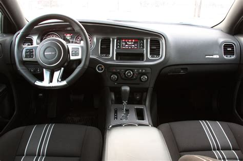 dodge charger  black interior