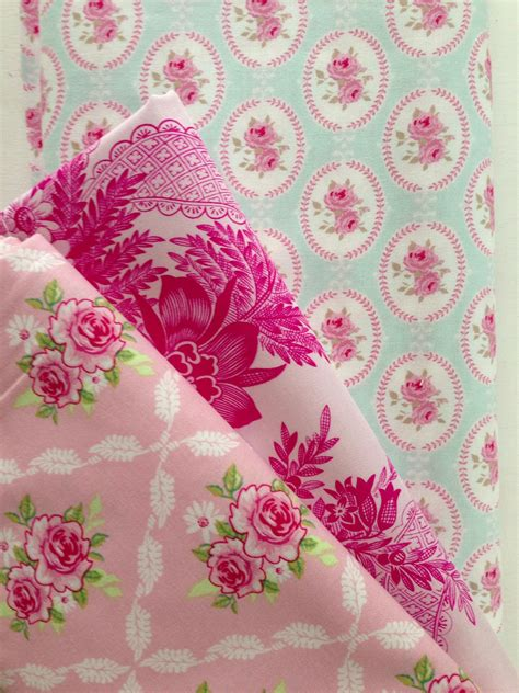 Shabby Chic Stoffe by Tilda Fabrics Available Now Fabrics Stacks Shabby