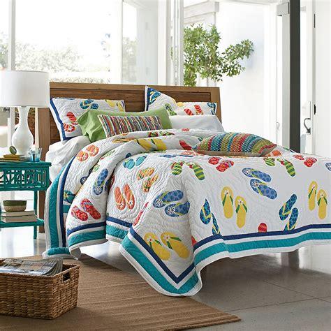 summer flip flop quilt the company store comforter