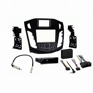 Ford Focus 2012 2013 2014 Single Or Double Din Stereo