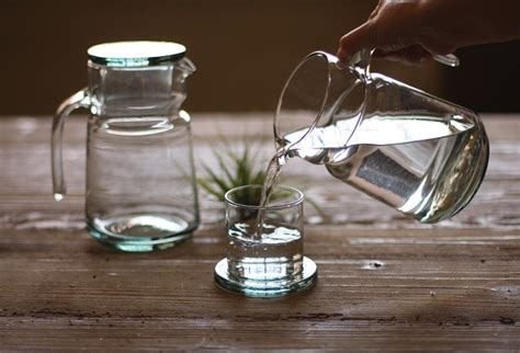 Bedside Decanter And Glass Antique Farmhouse