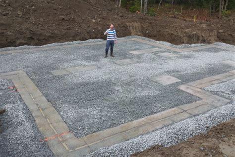 fabriquer un ilot de cuisine en bois tuyaux pvc drainage fodnation drain fondation