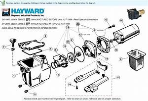 Hayward Super Pump Parts List