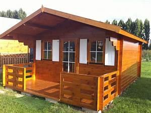 Chalet De Jardin Contemporain : deco de jardin en bois ~ Premium-room.com Idées de Décoration