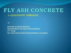 Fly Ash Concrete Ppt