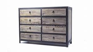Commode 8 Tiroirs : commode 8 tiroirs koroco mobilier moss ~ Teatrodelosmanantiales.com Idées de Décoration