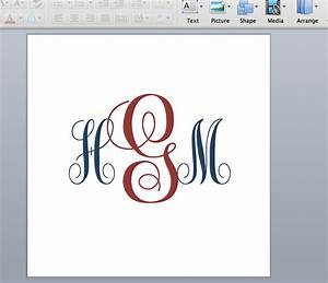 virginia hal diy make your own monogram With how to make a monogram