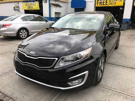 Used Kia Optima 2013 by Used 2013 Kia Optima Ex Hybrid Sedan 10 490 00